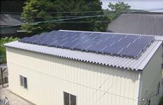 A様邸太陽光発電設備設置工事6.6kW