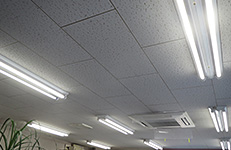 南部電機(株)STTセンター様LED照明交換工事