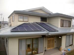 T様邸太陽光発電設備設置工事4.68kW
