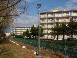 【青森県八戸市】下長地区街路灯設置工事が竣工しました。