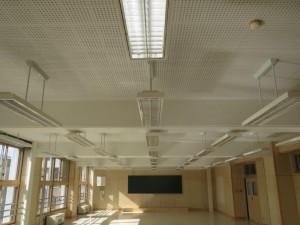 【青森県八戸市】八戸工業高校産振実習棟改修電気工事が竣工しました。