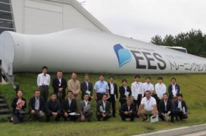 県内再生可能エネルギー視察研修会に参加しました。