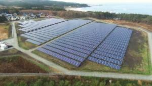 【青森県八戸市】金浜太陽光発電所が完成しました。