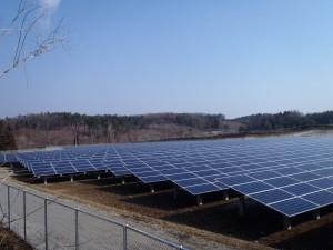 【青森県南部町】森越太陽光発電所建設工事が竣工しました。