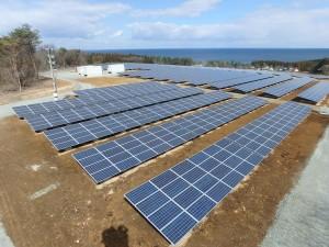 【青森県八戸市】下山太陽光発電所建設工事が竣工しました。