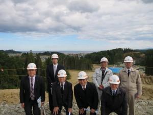 八戸商工会議所建設部会 久慈市・野田村方面視察会に参加しました。