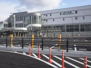 【青森県八戸市】八戸駅西地区 駅前広場駐車場機器整備工事が完成しました。