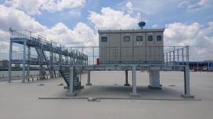 八戸港ふ頭用地整備コンテナターミナル拡張(受変電設備・冷凍コンテナ電気設備)工事が竣工いたしました。