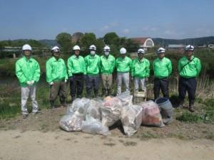 第6回青森県ふるさとの水辺サポーター活動を実施しました。