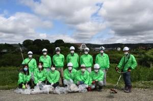 第7回青森県ふるさとの水辺サポーター活動を実施しました。