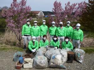 第8回青森県ふるさとの水辺サポーター活動を実施しました。