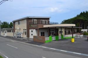 認定こども園百石幼稚園改築工事が竣工いたしました。